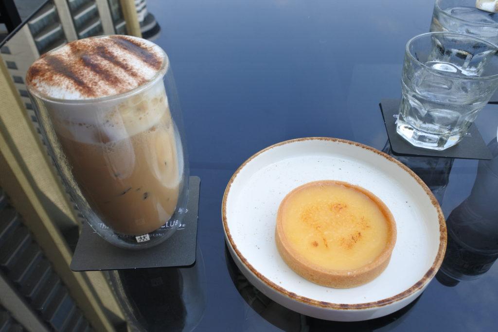 the coffee club レモンタルト