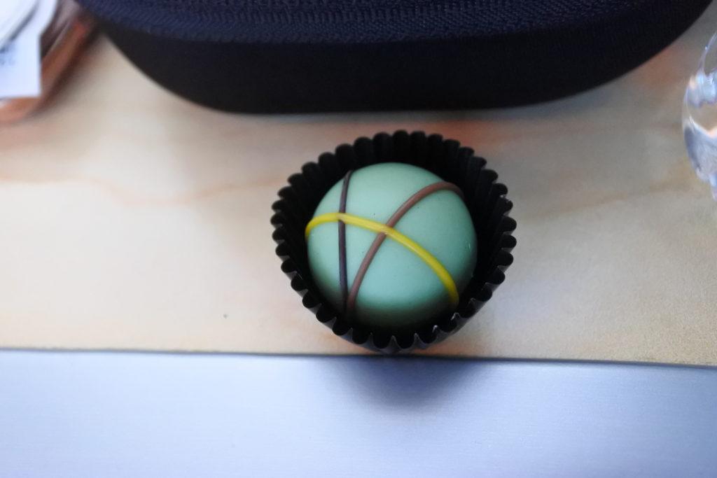 食後のチョコレート