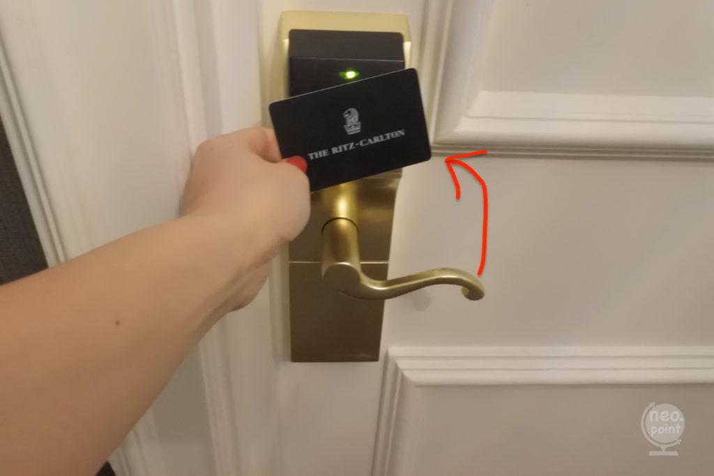 リッツ・カールトンのドア