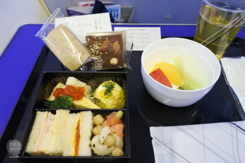 機内食 プレミアムクラス
